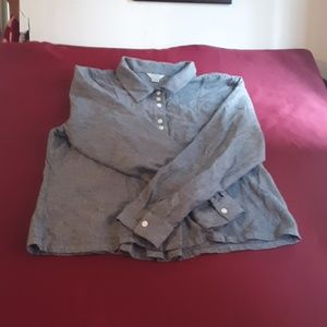 christopher & banks button down top